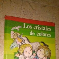 Libros antiguos: LOS CRISTALES DE COLORES , FANTASÍA Y LECTURA 1 SANTILLANA. Lote 153243694
