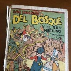 Libros antiguos: LOS ENANOS DEL BOSQUE 1934 CON DESPLEGABLES PRECIOSO. Lote 153659086