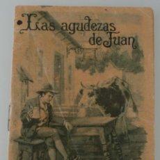 Libros antiguos: LAS AGUDEZAS DE JUAN - EDIT. SATURNINO CALLEJA – COLECCIÓN CUENTOS PARA NIÑOS TOMO 76 – ANTIGUO . Lote 153663322