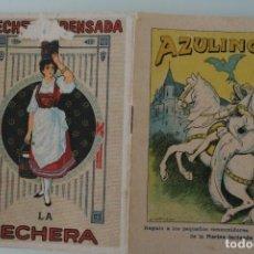 Libros antiguos: AZULINO – COLECCIÓN CUENTOS ESCOGIDOS SERIE I TOMO 4 – REGALO GENTILEZA NESTLE – ANTIGUO. Lote 153664102