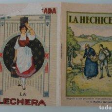 Libros antiguos: LA HECHICERA – COLECCIÓN CUENTOS ESCOGIDOS SERIE I TOMO 1 – REGALO GENTILEZA NESTLE – ANTIGUO. Lote 153667646
