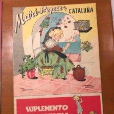 Livros antigos: MARI PEPA EN CATALUÑA CON RECORTABLE BUEN ESTADO. Lote 153699466