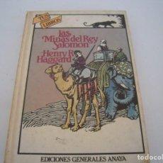 Alte Bücher - las minas del rey salomon 1º edicion tus libros anaya - 154932850