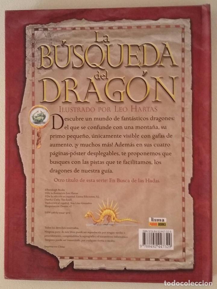 Libros antiguos: La busqueda del dragon - Foto 2 - 155163458