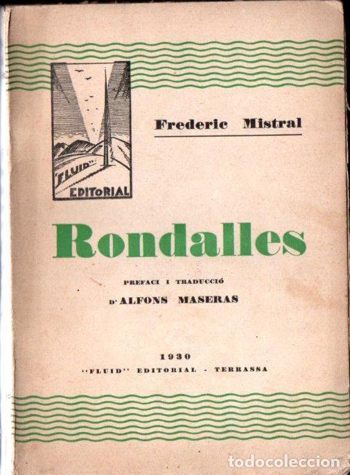 FREDERIC MISTRAL : RONDALLES (FLUID, TERRASSA, 1930) (Libros Antiguos, Raros y Curiosos - Literatura Infantil y Juvenil - Cuentos)