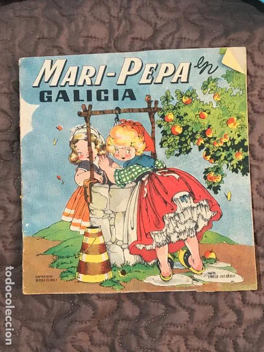 MARI PEPA EN GALICIA ILUSTRACIONES DE MARIA CLARET - TEXTO DE EMILIA COTARELO TZ (Libros Antiguos, Raros y Curiosos - Literatura Infantil y Juvenil - Cuentos)