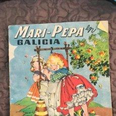 Libros antiguos: MARI PEPA EN GALICIA ILUSTRACIONES DE MARIA CLARET - TEXTO DE EMILIA COTARELO TZ. Lote 155867734