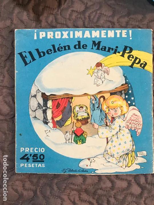 Libros antiguos: MARI PEPA EN GALICIA ILUSTRACIONES DE MARIA CLARET - TEXTO DE EMILIA COTARELO TZ - Foto 3 - 155867734
