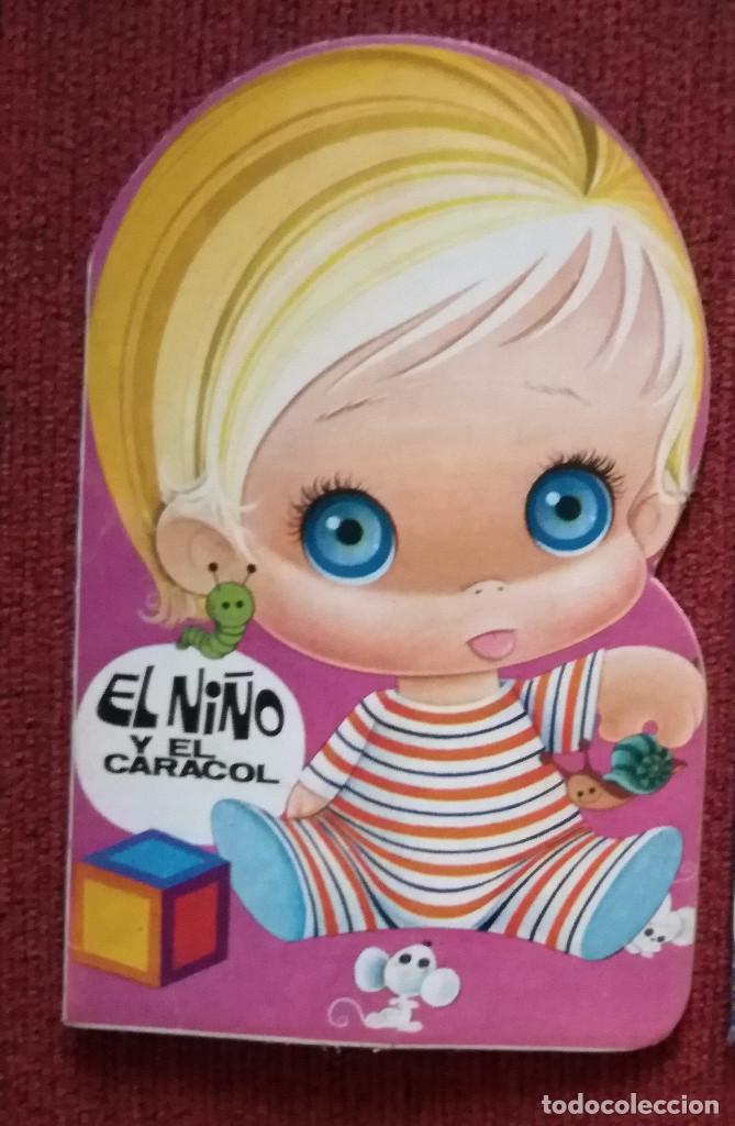 EL NIÑO CARACOL CUENTO VEO-VEO MINI TROQUELADO BRUGUERA 1983 NUEVO (Libros Antiguos, Raros y Curiosos - Literatura Infantil y Juvenil - Cuentos)