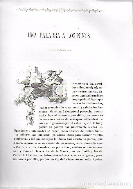Libros antiguos: Cuentos de la abuela para la niñez / F. Miquel Badia. BCN, 1864. 22x16cm. 88 p.il. - Foto 2 - 156006706