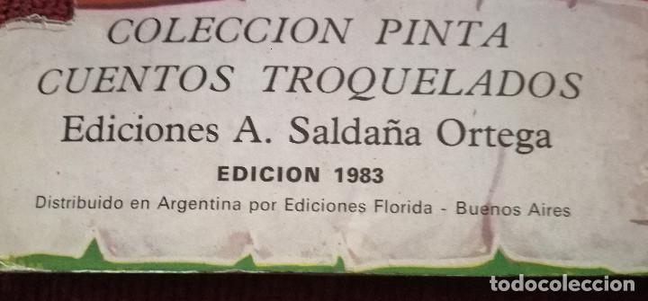 EL GATO CON BOTAS DIBUJOS C. BUSQUETS PINTA CUENTOS TROQUELADOS (Libros Antiguos, Raros y Curiosos - Literatura Infantil y Juvenil - Cuentos)