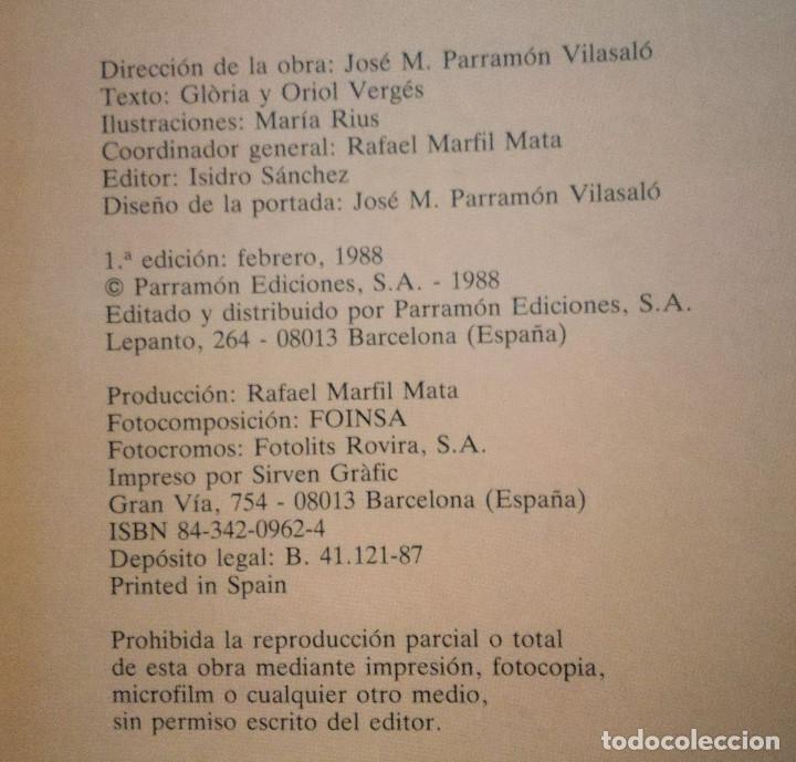 Libros antiguos: SERIE ÉRASE UNA VEZ...LA EDAD MEDIA PARRAMÓN 1988-MARÍA RIUS-Glòria & Oriol Vergés NUEVO - Foto 5 - 156018982