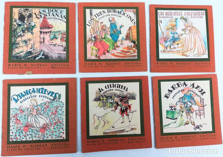 6 CUENTOS COLECCIÓN POPULAR. VV. AA. EDITORIAL LUCERO. BARCELONA 1940 (Libros Antiguos, Raros y Curiosos - Literatura Infantil y Juvenil - Cuentos)