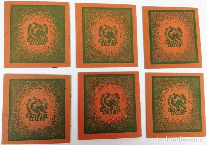 Libros antiguos: 6 CUENTOS COLECCIÓN POPULAR. VV. AA. EDITORIAL LUCERO. BARCELONA 1940 - Foto 2 - 156049126
