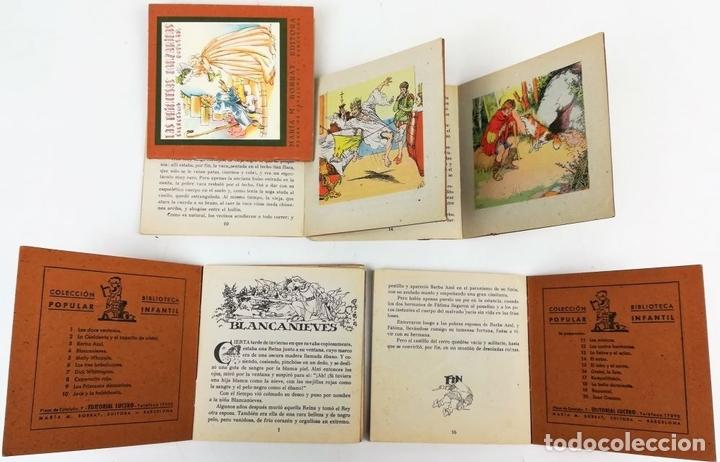 Libros antiguos: 6 CUENTOS COLECCIÓN POPULAR. VV. AA. EDITORIAL LUCERO. BARCELONA 1940 - Foto 3 - 156049126