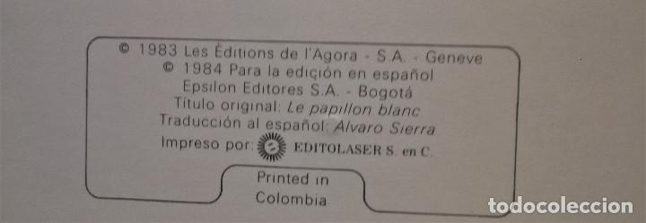 Libros antiguos: La Mariposa Blanca precioso cuento Caran D'ache Claude Dessons-Brigitte Bloch-Tabet 1983 Epsilon - Foto 4 - 156116386