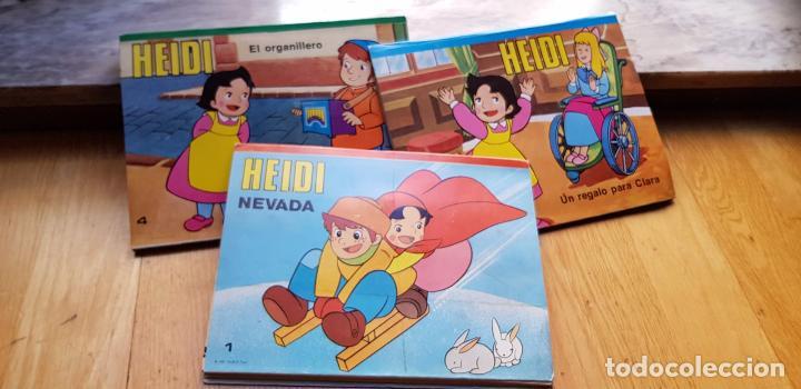3 CUENTOS POP UP DE HEIDI NUMEROS 1,3,4 EDITORIAL ROMA AÑO 1987 (Libros Antiguos, Raros y Curiosos - Literatura Infantil y Juvenil - Cuentos)