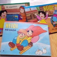 Livres anciens: 3 CUENTOS POP UP DE HEIDI NUMEROS 1,3,4 EDITORIAL ROMA AÑO 1987. Lote 156491018
