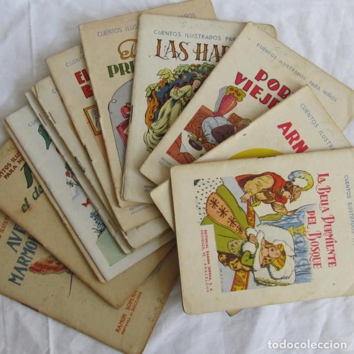 13 CUENTOS ILUSTRADOS PARA NIÑOS RAMÓN SOPENA (Libros Antiguos, Raros y Curiosos - Literatura Infantil y Juvenil - Cuentos)