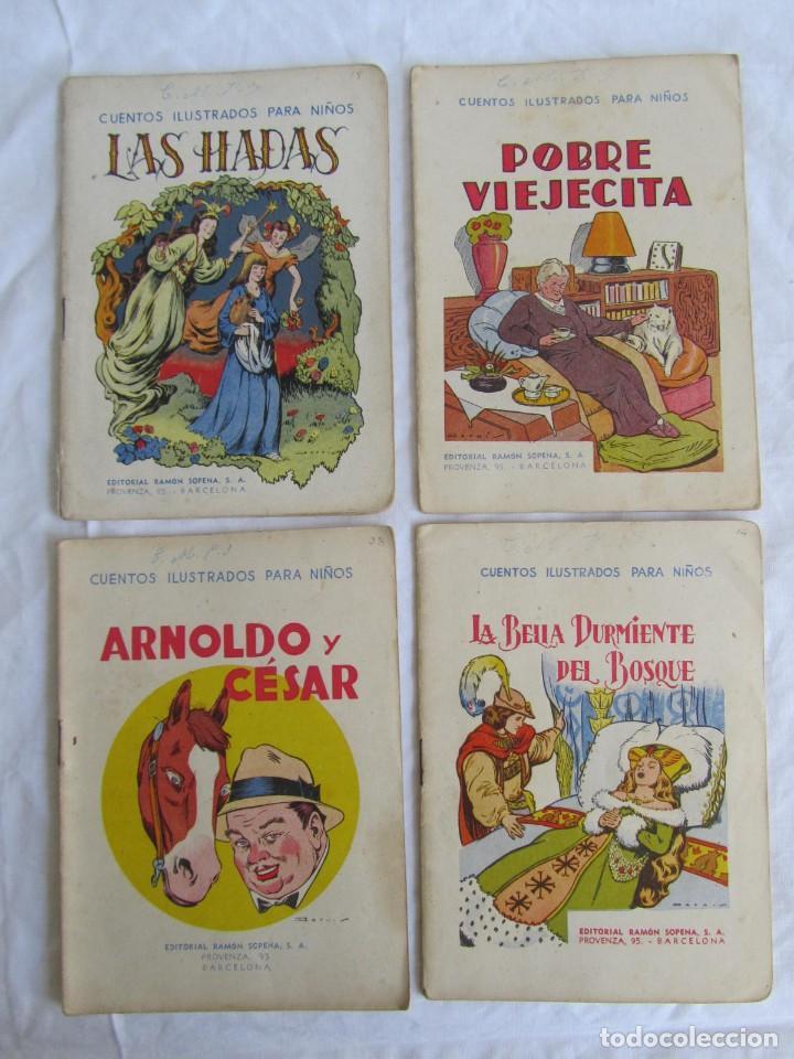 Libros antiguos: 13 cuentos ilustrados para niños Ramón Sopena - Foto 2 - 156648346