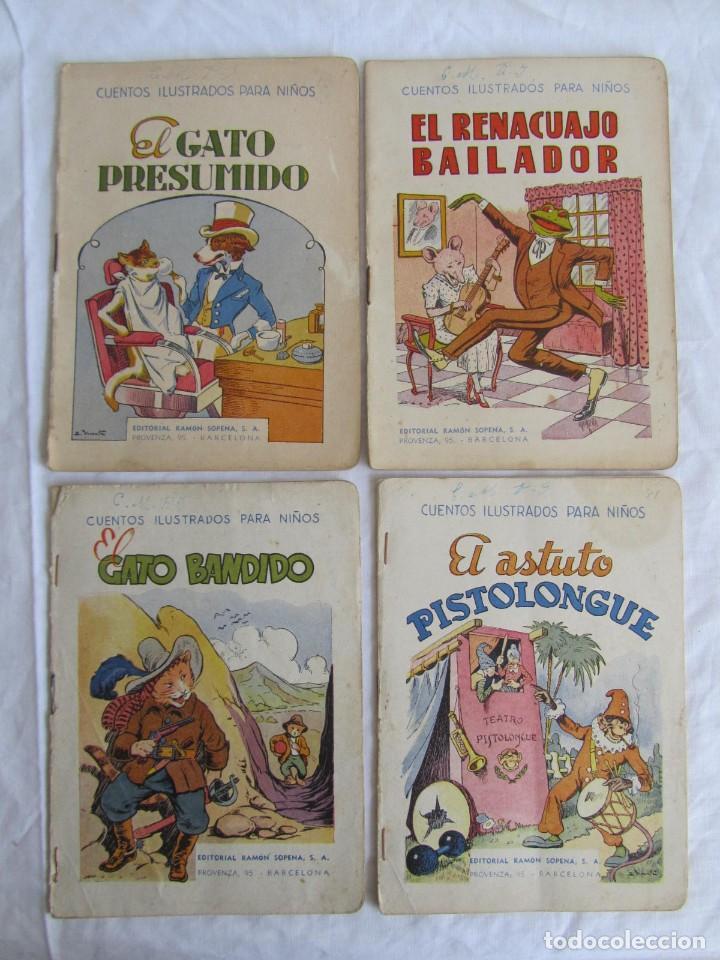 Libros antiguos: 13 cuentos ilustrados para niños Ramón Sopena - Foto 8 - 156648346