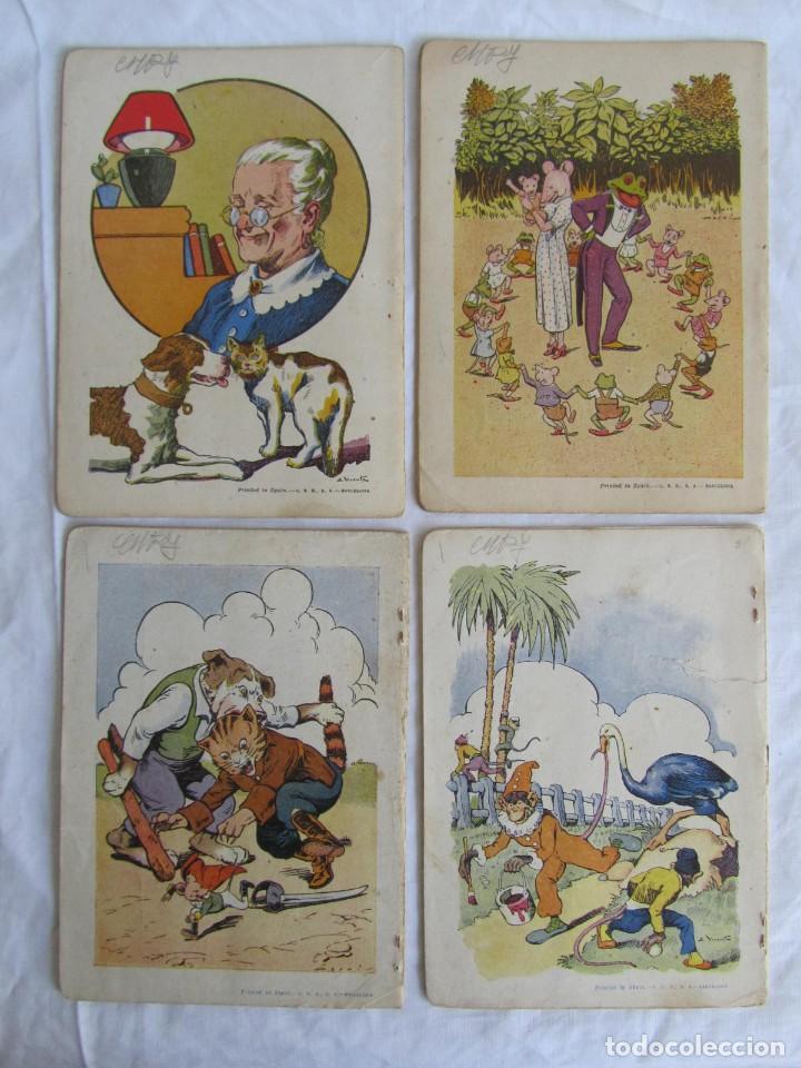 Libros antiguos: 13 cuentos ilustrados para niños Ramón Sopena - Foto 9 - 156648346