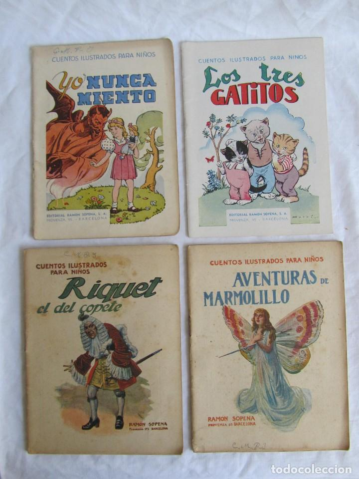 Libros antiguos: 13 cuentos ilustrados para niños Ramón Sopena - Foto 14 - 156648346