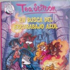Libros antiguos: TEA STILTON. EN BUSCA DEL ESCARABAJO AZUL. DESTINO.. Lote 156969006