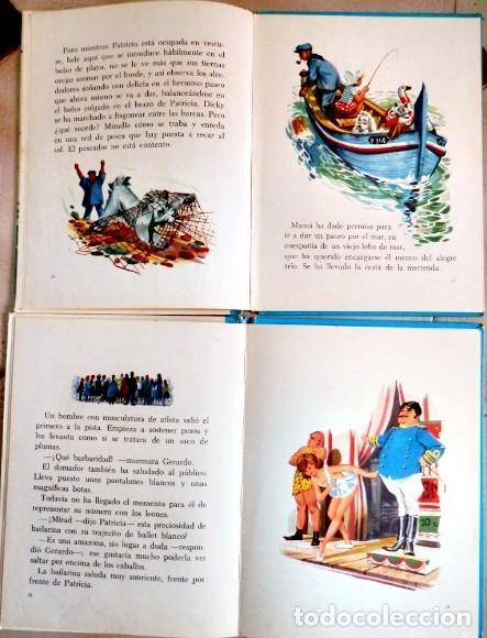 Libros antiguos: PATRICIA EN EL MAR. PATRICIA EN EL CIRCO. - Foto 2 - 156992674