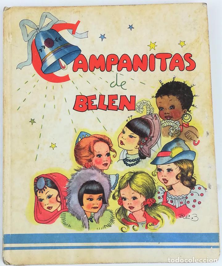 CAMPANITAS DE BELÉN. MARÍA ASCENSIÓN PLANTÍN. EDICIONES AUGUSTA. SAN SEBASTIÁN 1942 (Libros Antiguos, Raros y Curiosos - Literatura Infantil y Juvenil - Cuentos)