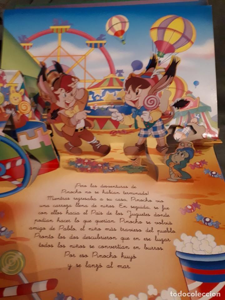 Libros antiguos: PINOCHO, cuento pop-up - Foto 5 - 158380034