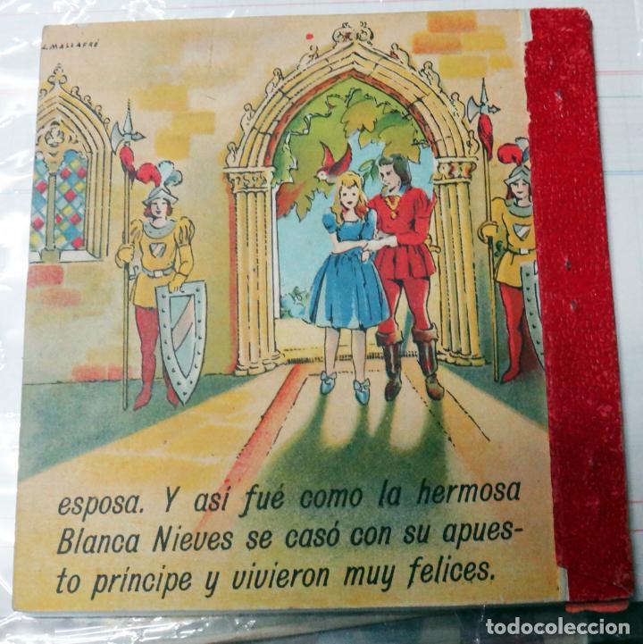Libros antiguos: CUENTO BLANCA NIEVES, BLANCANIEVES, TROQUELADO ,EDITORIAL ROMA Nº 1 - Foto 5 - 21037468