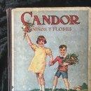 Libros antiguos: CANDOR - NIÑOS Y FLORES JOSEFINA BOLINAGA - 1934 YAGÜES EDITOR - ILUSTRADO. Lote 158872034