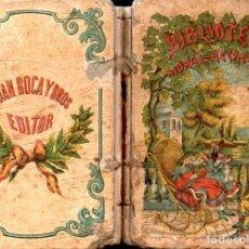 Libros antiguos: SCHMID : EL BUEN FRIDOLÍN Y EL PÍCARO TIERRY (ROCA Y BROS, 1870). Lote 159251942