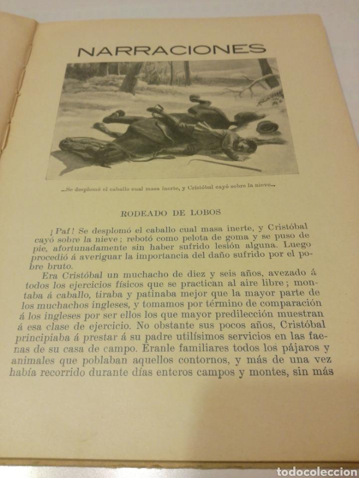 Libros antiguos: NARRACIONES DE BIBLIOTECA PARA NIÑOS - Foto 4 - 159909800