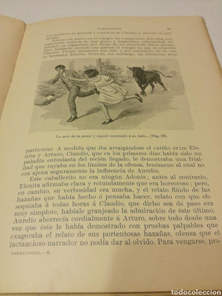 Libros antiguos: NARRACIONES DE BIBLIOTECA PARA NIÑOS - Foto 6 - 159909800