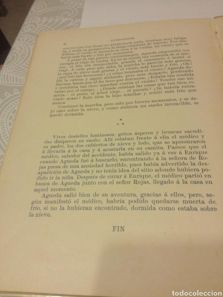 Libros antiguos: NARRACIONES DE BIBLIOTECA PARA NIÑOS - Foto 8 - 159909800