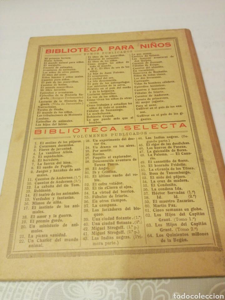 Libros antiguos: NARRACIONES DE BIBLIOTECA PARA NIÑOS - Foto 9 - 159909800