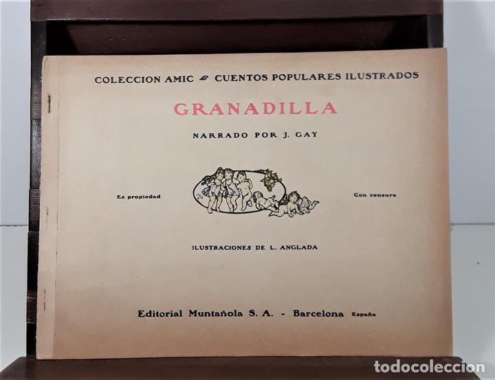 GRANADILLA. J. GAY. EDIT. MUNTAÑOLA. BARCELONA. CIRCA 1925. (Libros Antiguos, Raros y Curiosos - Literatura Infantil y Juvenil - Cuentos)