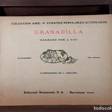 Libros antiguos: GRANADILLA. J. GAY. EDIT. MUNTAÑOLA. BARCELONA. CIRCA 1925.. Lote 160100734