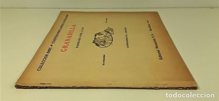 Libros antiguos: GRANADILLA. J. GAY. EDIT. MUNTAÑOLA. BARCELONA. CIRCA 1925. - Foto 2 - 160100734