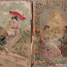 Libros antiguos - TEODORO BARÓ : CUENTOS DEL HOGAR (BASTINOS, 1908) - 160162678
