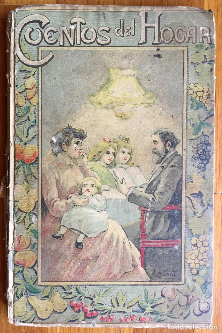 Libros antiguos: TEODORO BARÓ : CUENTOS DEL HOGAR (BASTINOS, 1908) - Foto 2 - 160162678