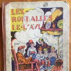 Libros antiguos: JORDI CANIGÓ : LES RONDALLES DE L'AVI (BONAVIA, 1929) CATALÁN. Lote 160373006
