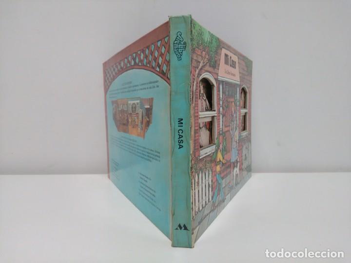 Libros antiguos: Mi casa, libro escenario, tridimensional, editorial Montena - Foto 2 - 160984130