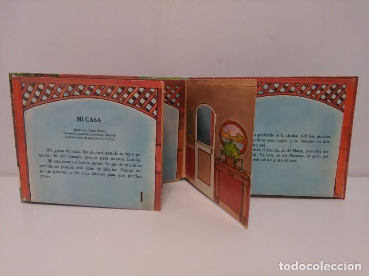 Libros antiguos: Mi casa, libro escenario, tridimensional, editorial Montena - Foto 4 - 160984130