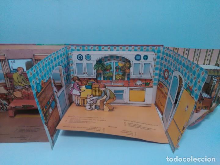 Libros antiguos: Mi casa, libro escenario, tridimensional, editorial Montena - Foto 8 - 160984130