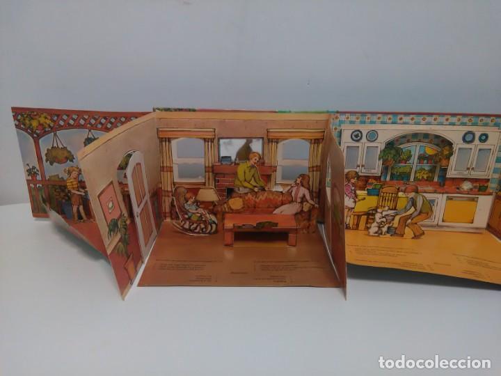 Libros antiguos: Mi casa, libro escenario, tridimensional, editorial Montena - Foto 9 - 160984130