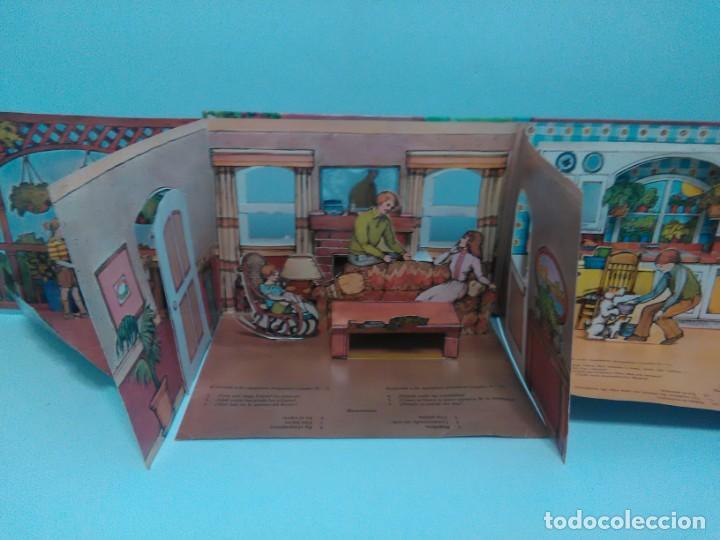 Libros antiguos: Mi casa, libro escenario, tridimensional, editorial Montena - Foto 10 - 160984130