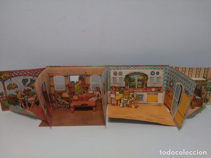 Libros antiguos: Mi casa, libro escenario, tridimensional, editorial Montena - Foto 12 - 160984130